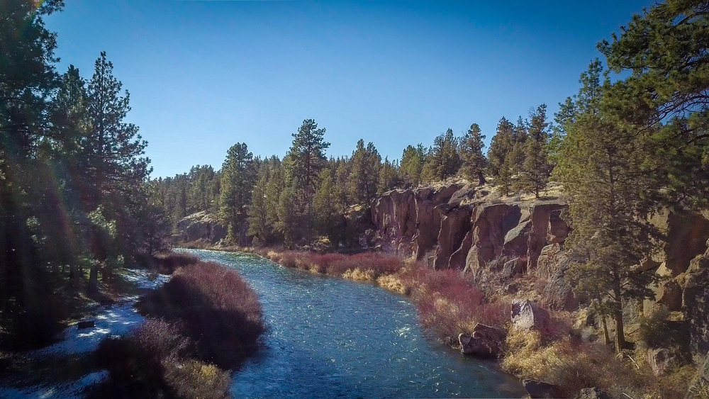 Bend, Oregon - The Deschutes River