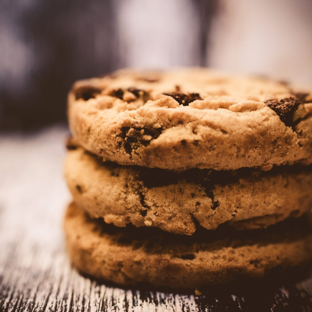 Black fig infused chocolate chip oatmeal cookies -