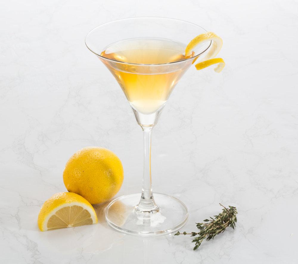 Apricot Spritz Martini -