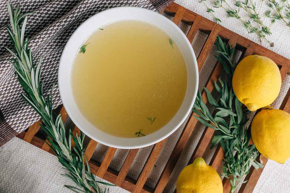 Broth . . . A foundational element of any good gut-healing nutritional protocol.