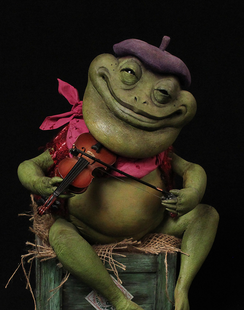 Our Frog puppet starred in an ADDY-award-winning public service announcement written and directed by Lee Romaire