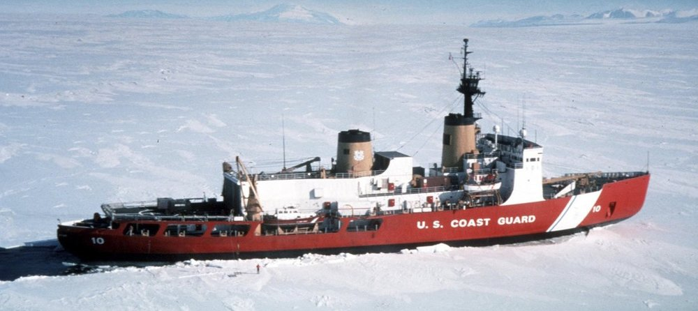 """An   icebreaker   is a special-purpose ship or boat designed to move and navigate through ice-covered waters, and provide safe waterways for other boats and ships."" —  Wikipedia"