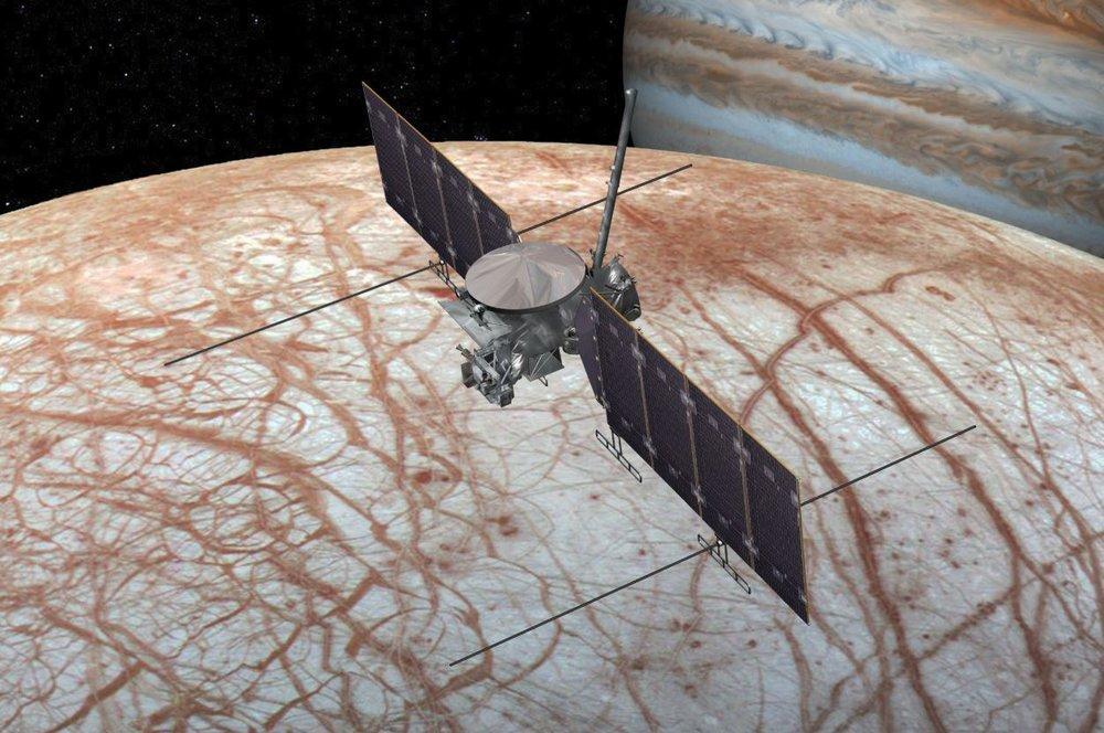 The Europa Clipper. Credit: NASA
