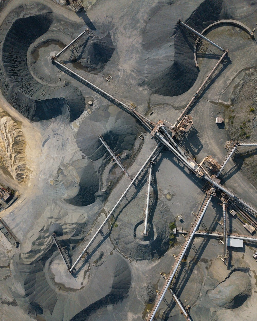 Weldon Companies stone quarry, New Jersey. © Mike Stillwell