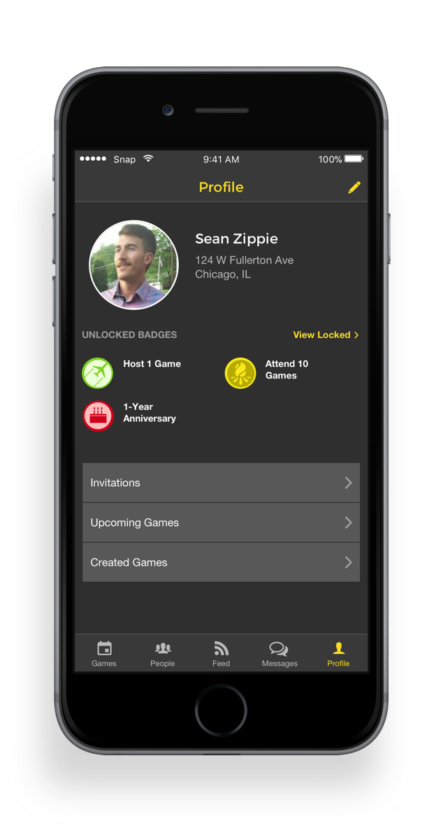 I added a gamification element where badges are unlocked when certain app milestones are met.This lets players get a sense for each other's skill levels and also allows for bragging rights. -