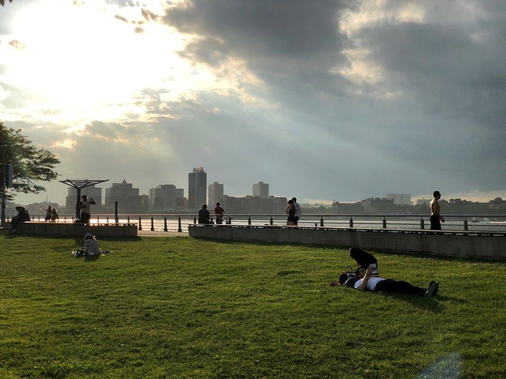 Pier 45 - Hudson river park(Perry St & West side highway)
