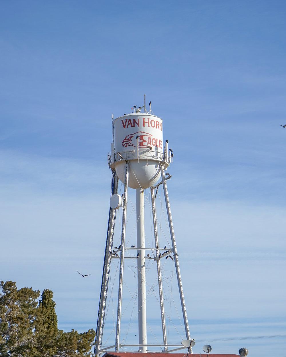 Van Horn Water Tower