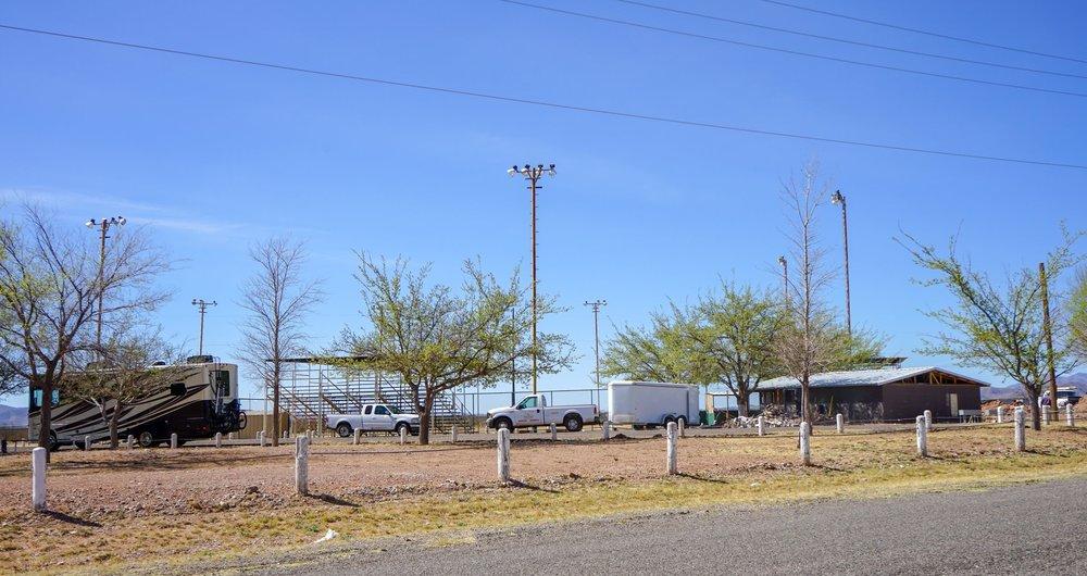 Veteran's Memorial Park, Van Horn Texas