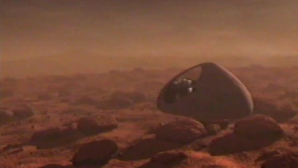 Aquila on Mars.