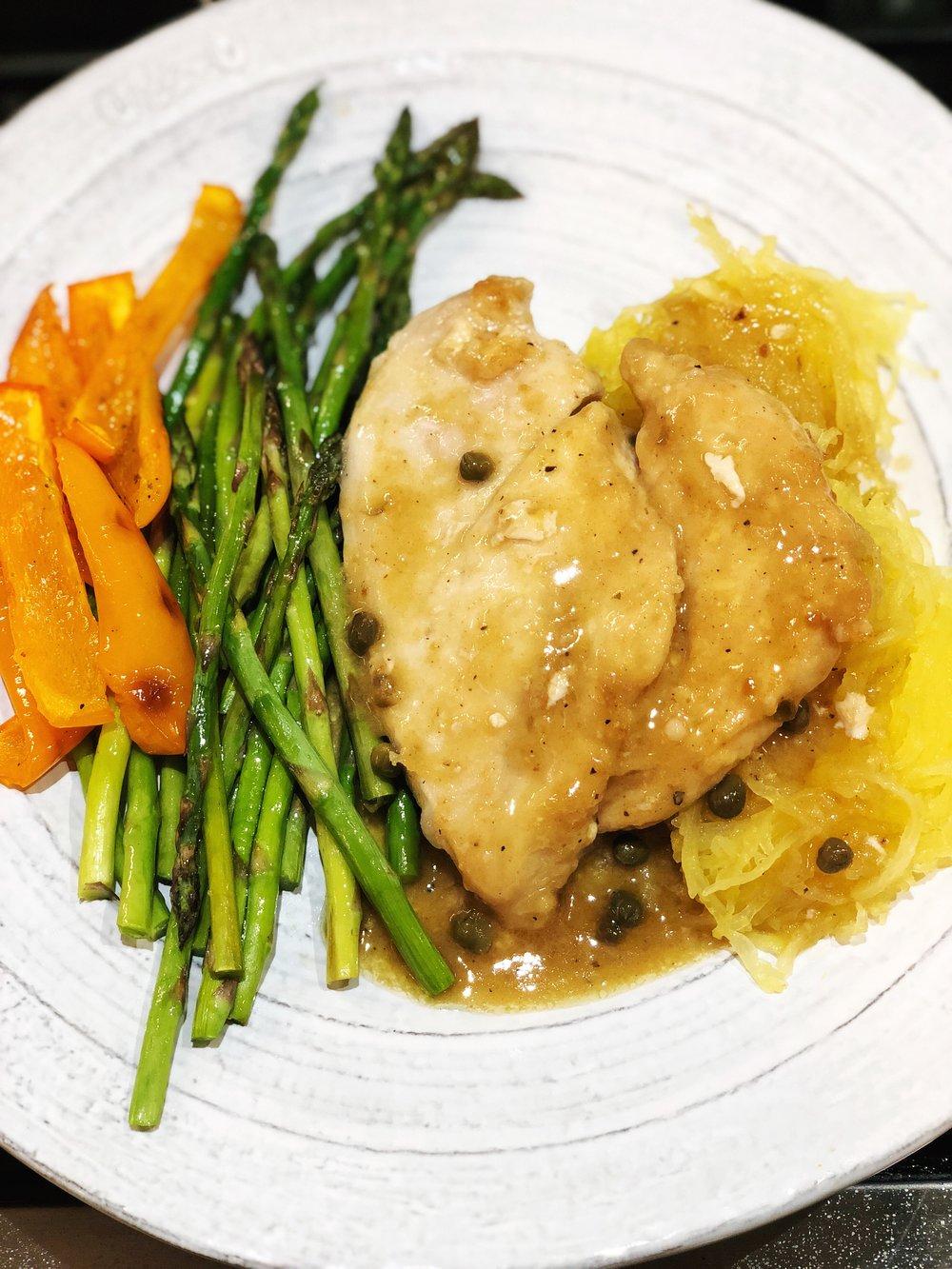 Chicken Piccata - recipe coming soon
