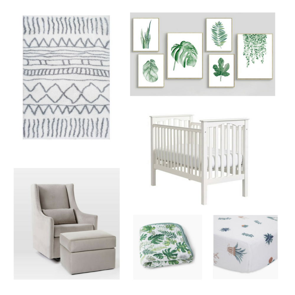 almonds and asana baby boy nursery inspiration