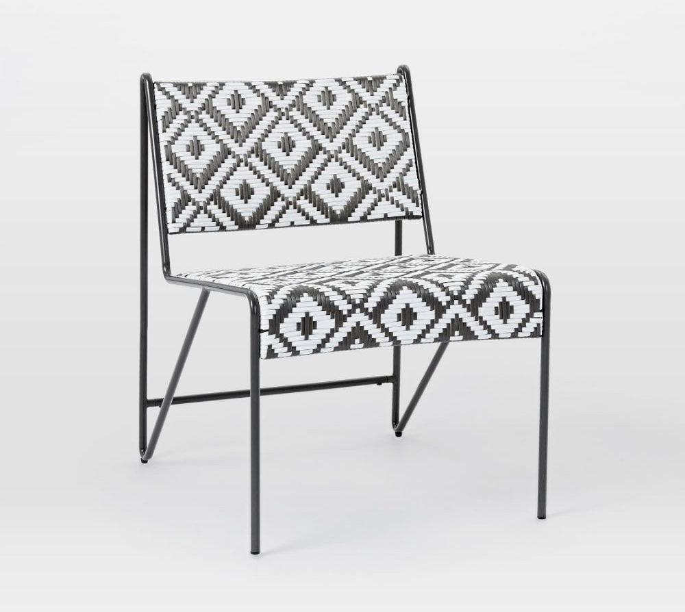 I think we will probably do at least one bench with the dining table but I am LOVING these chairs for the ends or one side. They really spice things up without being too crazy