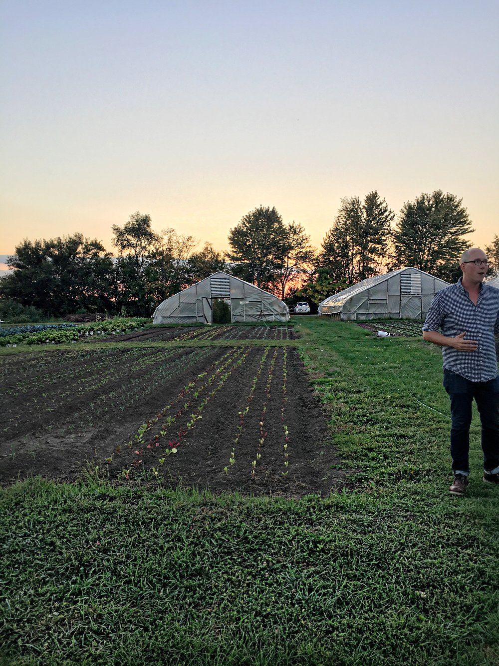 I want to keep working on collaborations that offer me the opportunity to visit farms so that I can keep gaining knowledge on where my food comes from