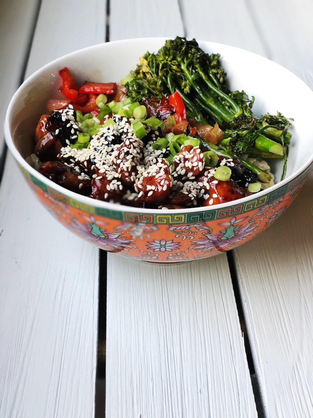 homemade sesame chicken bowl.JPG