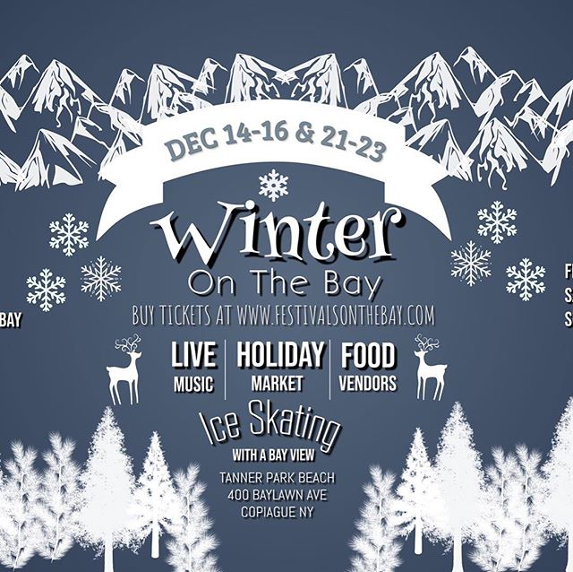 Big news!!! We will be one of the tables here at Winter On The Bay this Sunday!!! Come by bring some donations, buy some merch and hang with us!! $10 a ticket if you use code VIP50