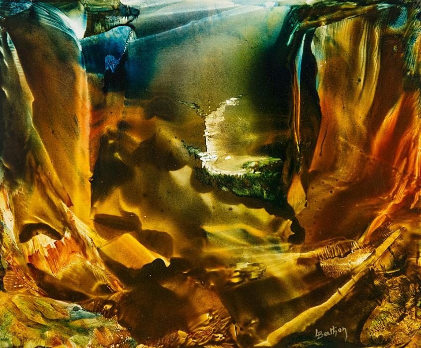 Les falaises d'Ocres