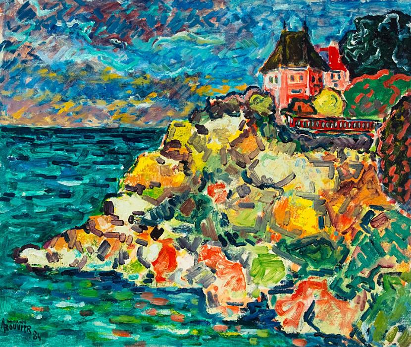 Maison sur la côte