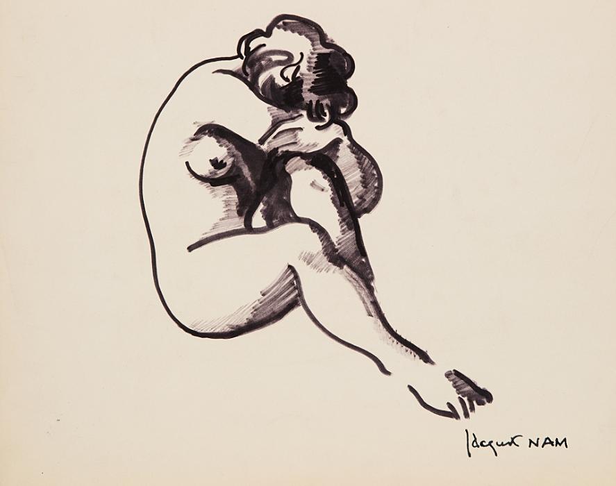 Femme nu, c.1930
