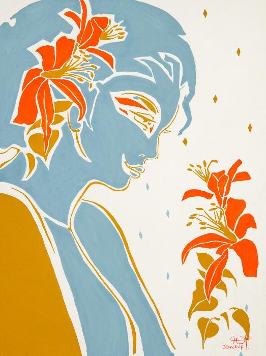Fleurs d'hibiscus