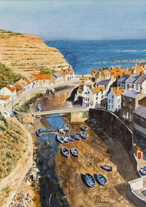 The Tide's Out At Staithes
