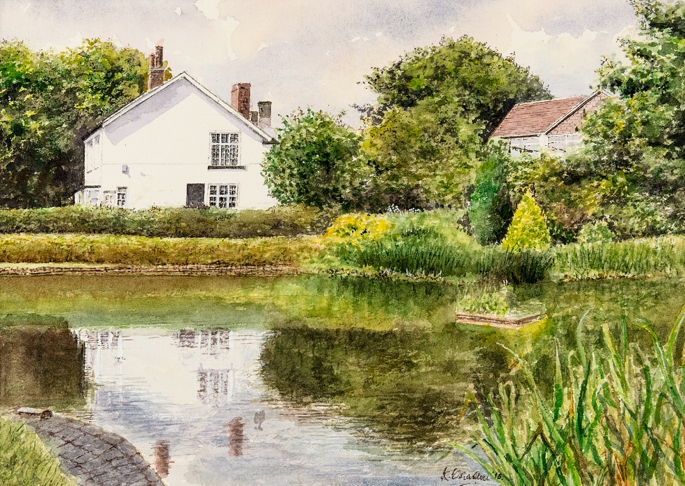 Reflections On Wolviston Pond