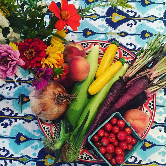 Summer color please don't go away! @unsqgreenmarket
