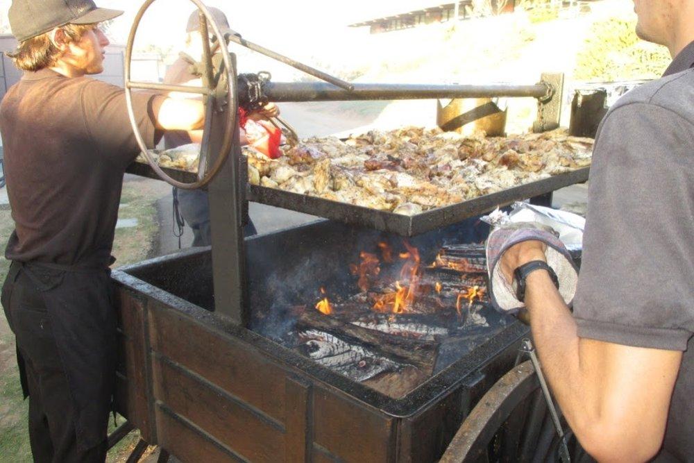 Barbecue and Rotisserie Menus -