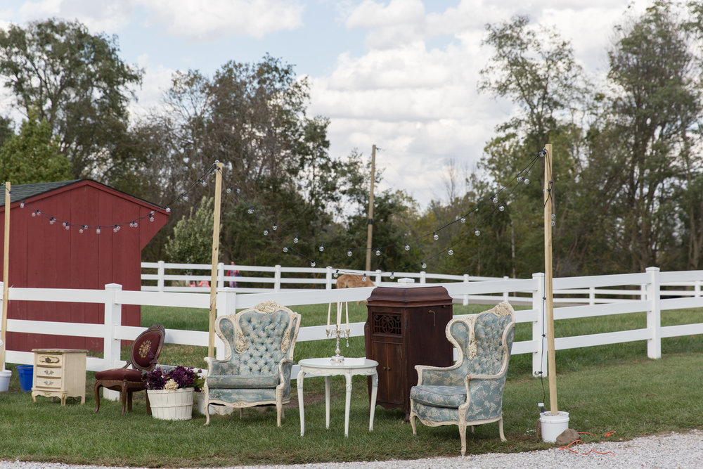 Heritage Farm wedding event