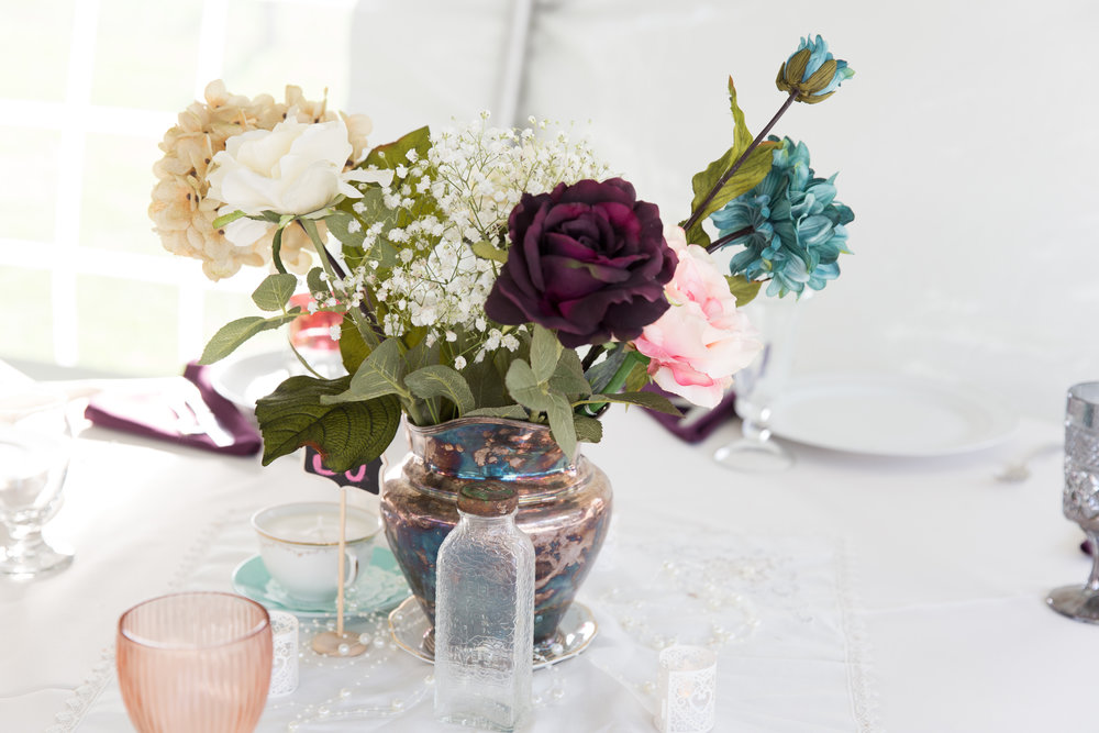 wedding reception centerpiece