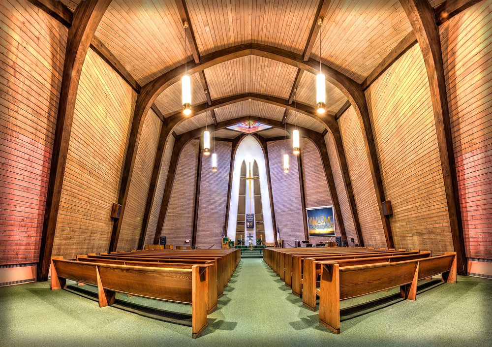 Suburban US Church Sanctuary