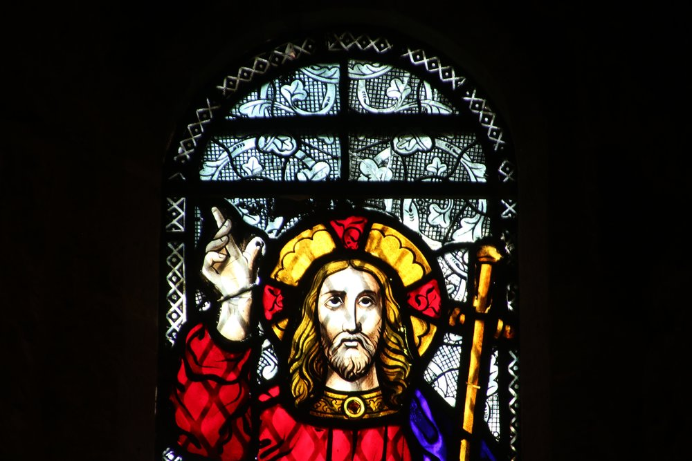 Christus Victor Stained Glass