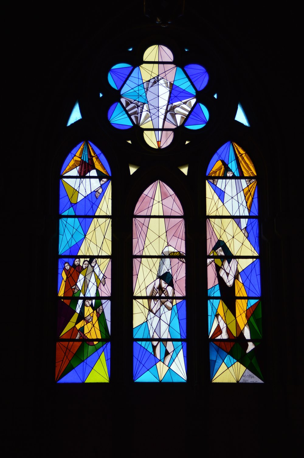 Modern Stained Glass for a Modern Congregation