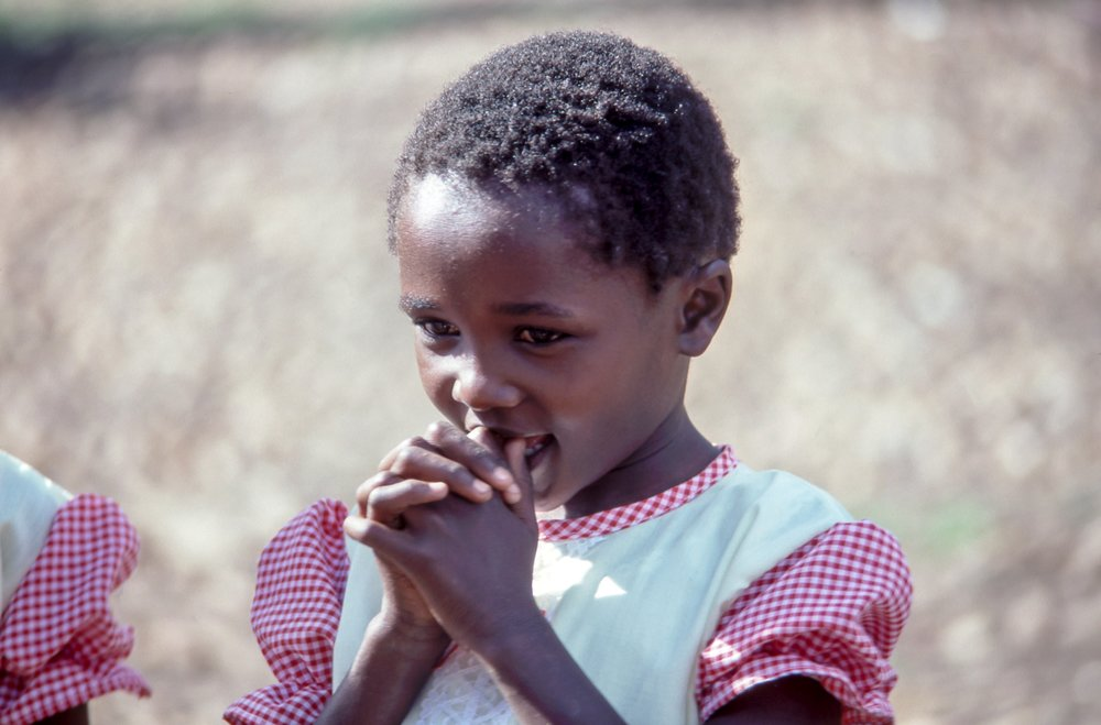 Nigerian Girl at Prayer