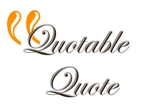 Quotable Quote RCL Image (copyright 2018)