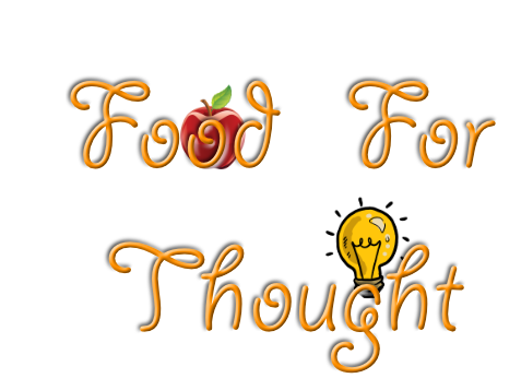 Food For Thought Image RCL (copyright 2018)