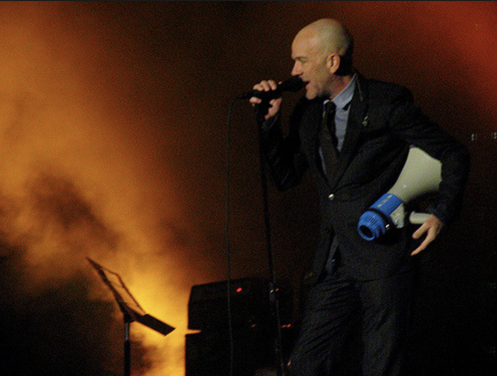 Michael Stipe, singing the best song about the end of the world ever sung.