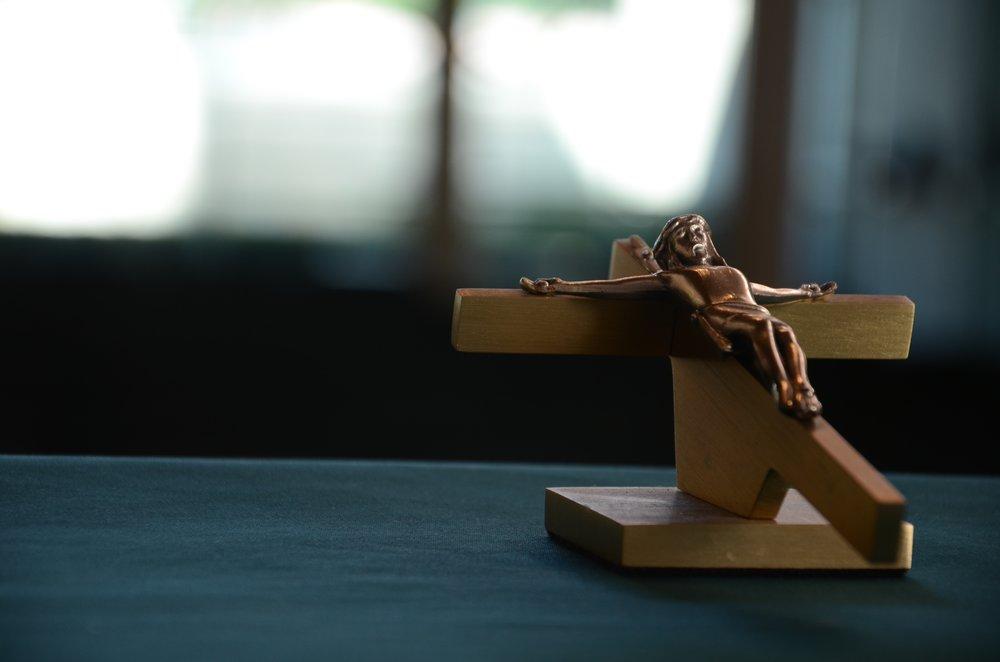 Crucifix wooden.