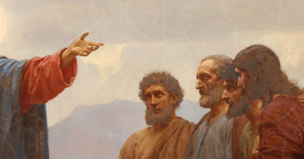 Jesus answering.