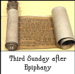 3rd Epiphany 2019