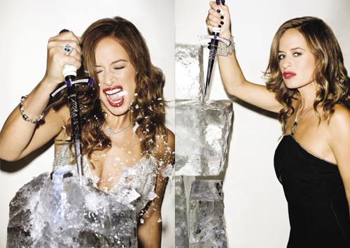 Jade Jagger by Terry Richardson