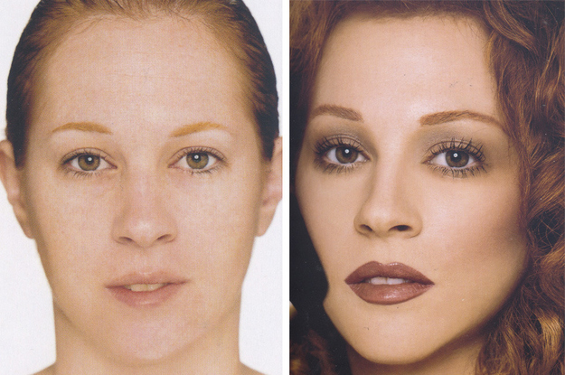 This image by Kevyn Aucoin showed me the incredible transformative power of makeup.