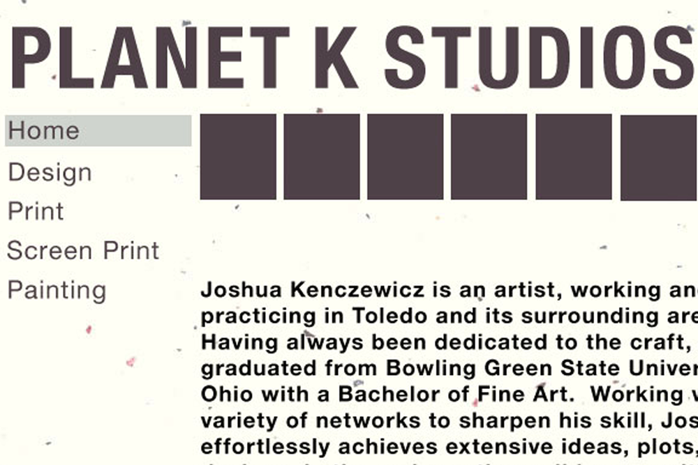 PLANET K STUDIOS - WITCHTOWN Producer JJ Kenczewicz's personal art production company. Contact JJ for inquiries via the Planet K Studios website.