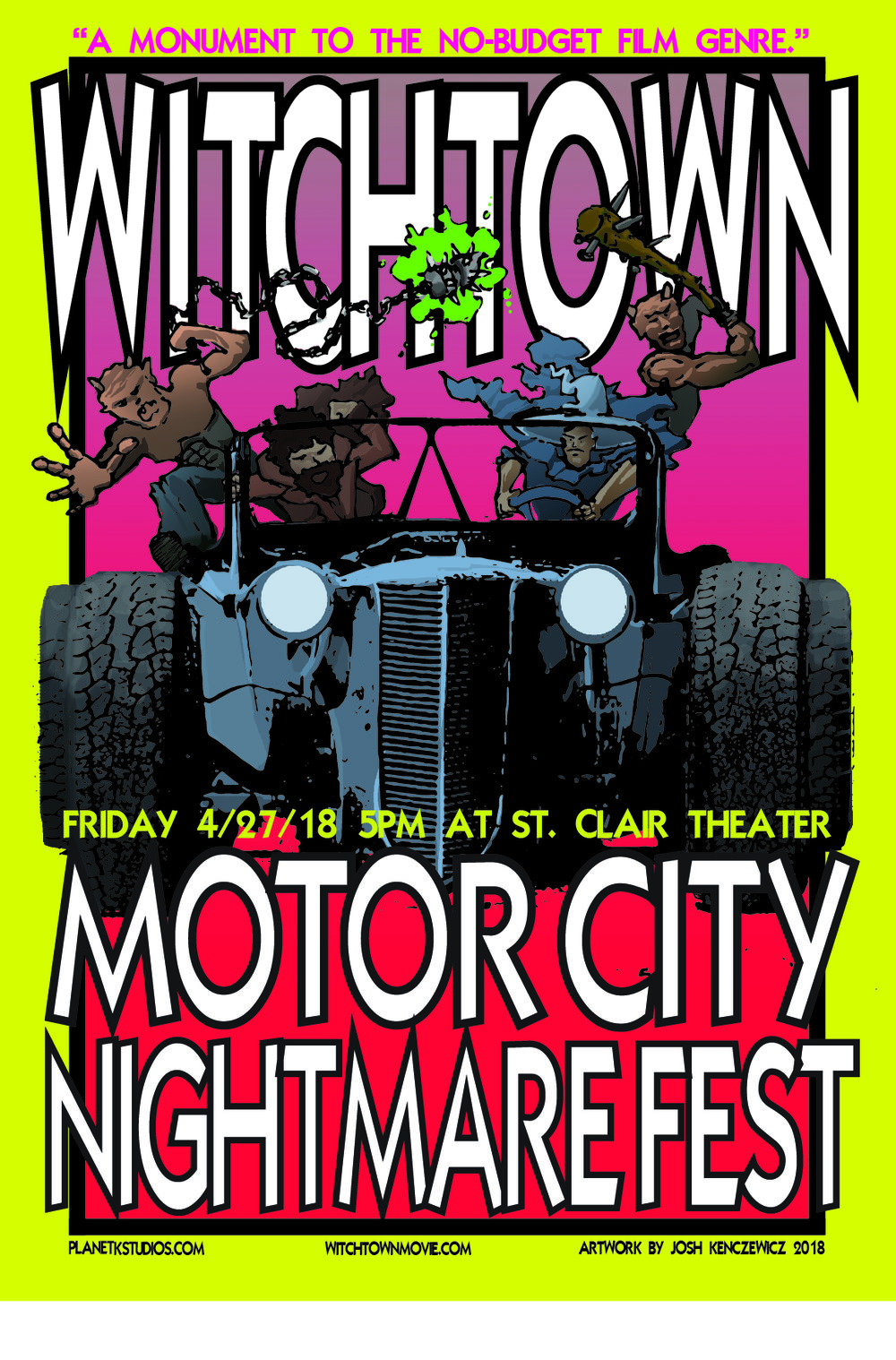 Witchtown Motor City Nightmare Fest