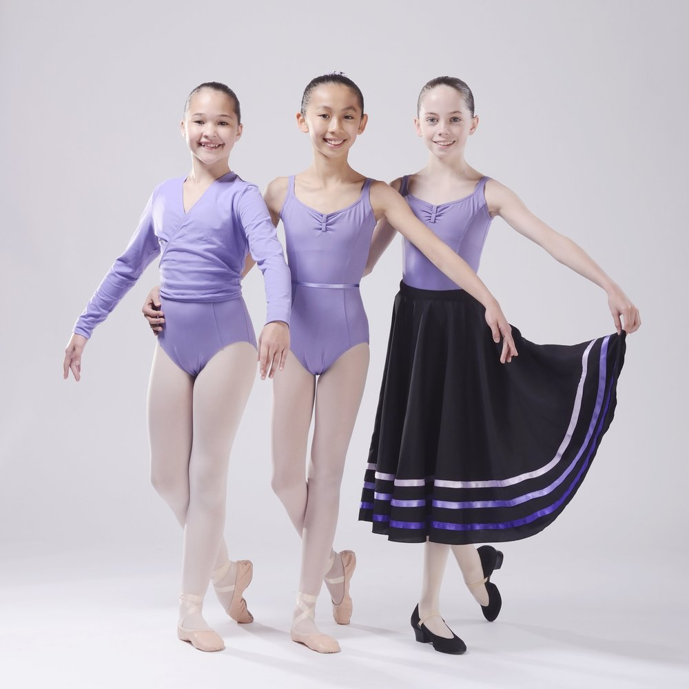 Grade 4 and Grade 5 RAD Ballet Uniform