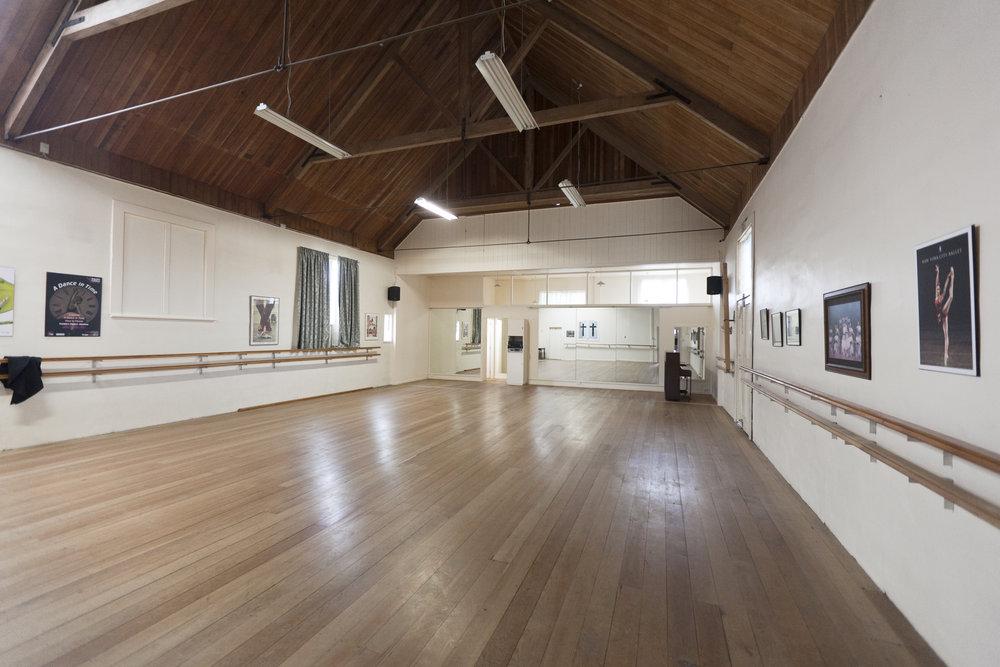 Studio 1 (now has a ballet floor)