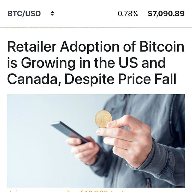 Retailer Adoption of #Crypto and #Bitcoin is rapidly growing in North America! Where's your favourite place to spend your crypto? #bitcoin #halifax #cryptocurrency