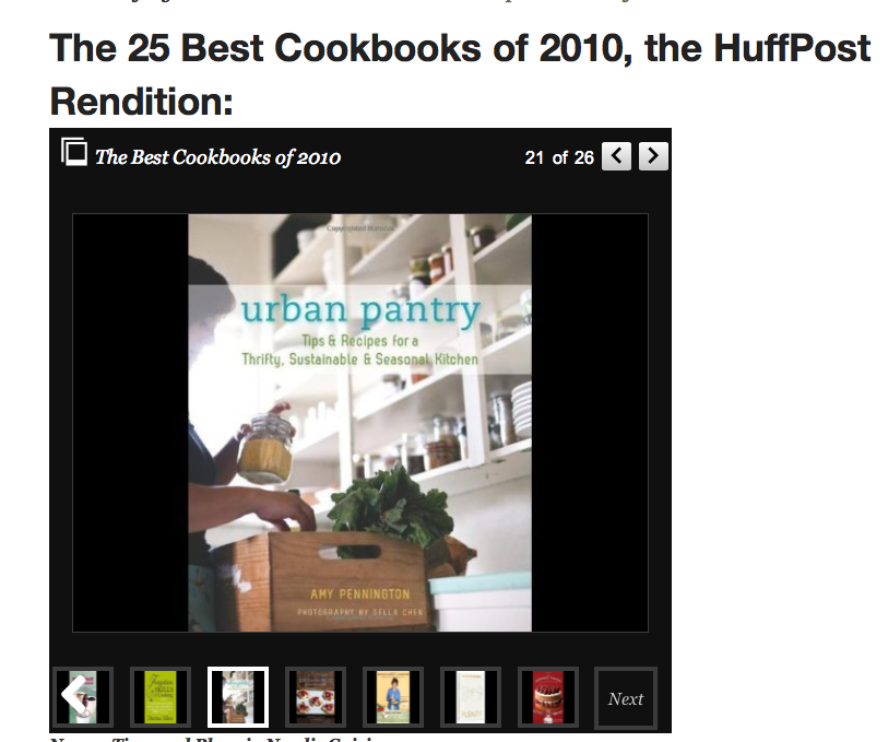 Best Cookbooks 2010