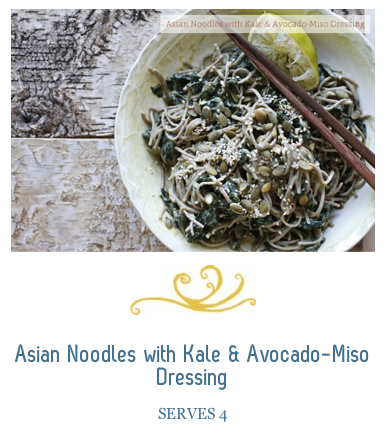 Kale & Avocado Miso Dressing