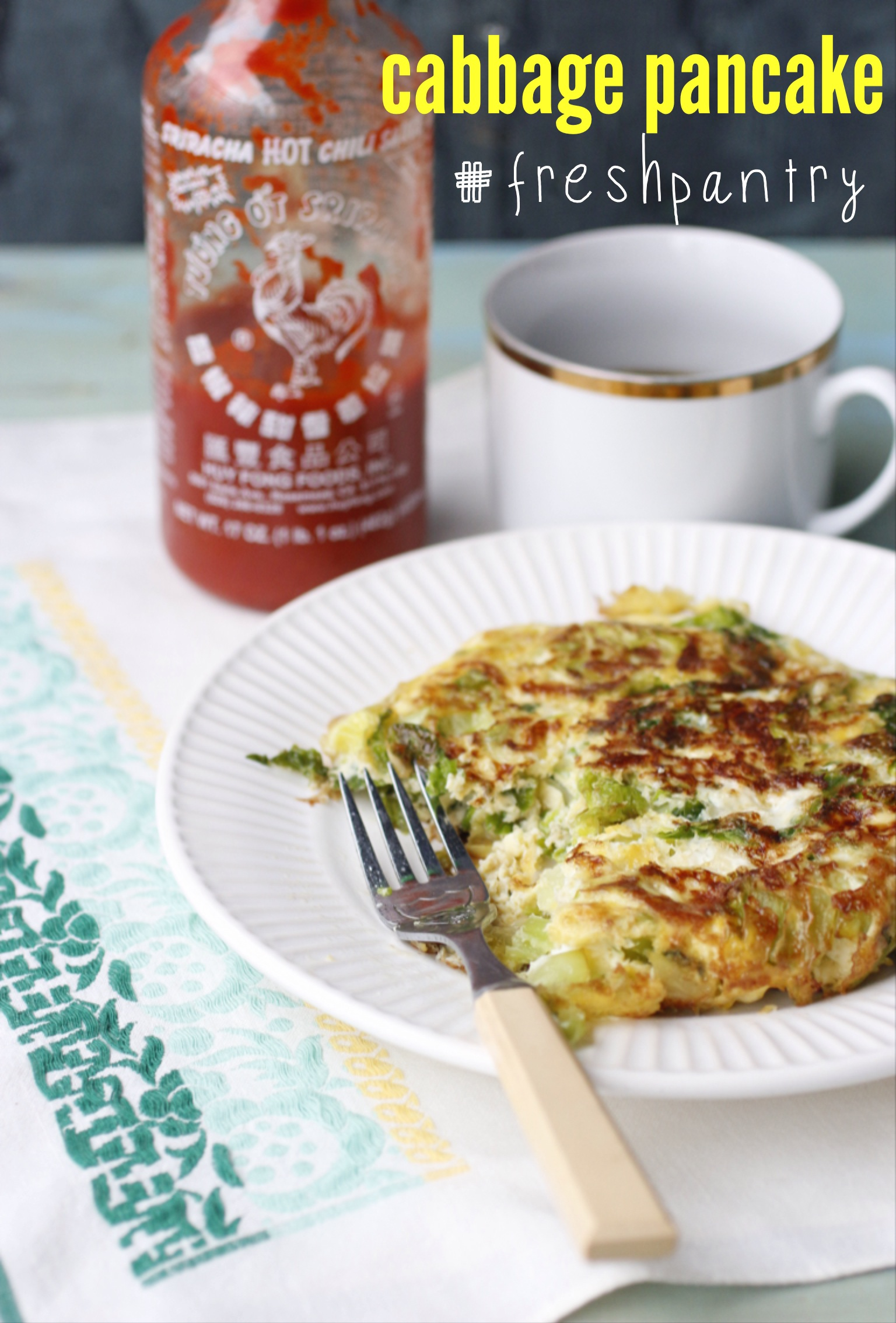 Fresh Pantry, cabbage pancake