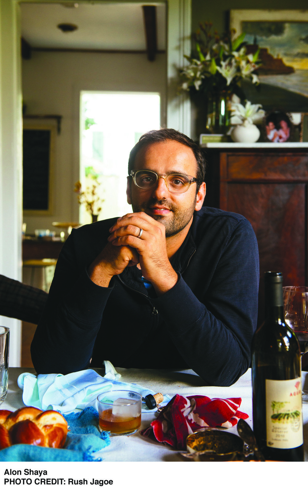 """Coming home from school and opening the front door of the house and smelling the peppers and the eggplants—to me, that was a connection to family. … That was always the connection with my grandmother's cooking: it made me feel normal again."" - — Alon Shaya"